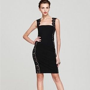 NWT Aidan Mattox Open Back Lace Cocktail Dress